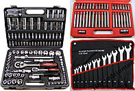 Набор головок ключей инструментов+биты+ключи, фото 1