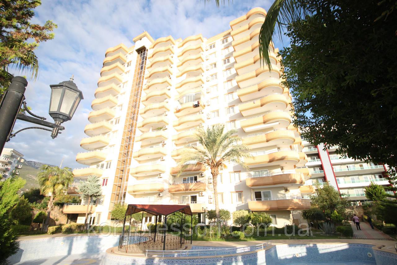 Квартира с видом  на море и горы, квартира в Турции,квартира в Махмутларе