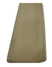"""Оплетка руля Elegant кожа """"премиум"""" цвет  кремовый размер M 37-38 см  EL 105 092"""