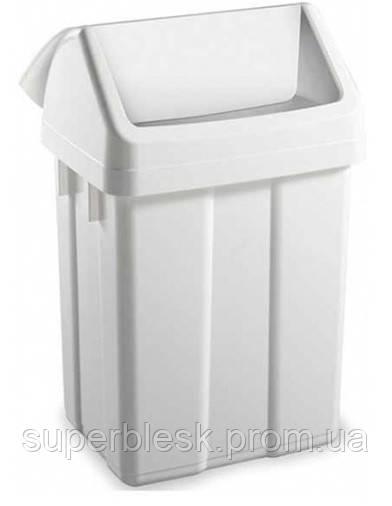 Контейнер для мусора Filmop 12л с качающейся крышкой (8162)