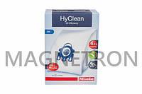 Набор мешков HyClean 3D GN (4шт) + фильтры к пылесосу Miele 41996572D (9153500)
