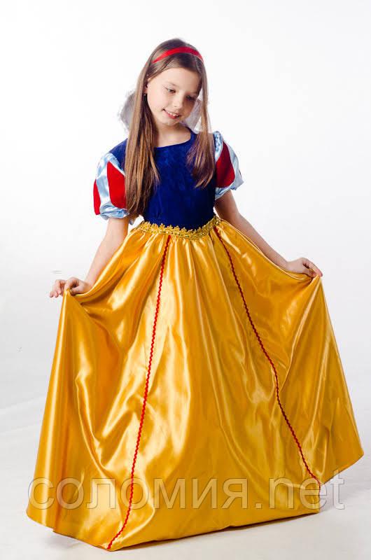 85e01a060125cdc Детский карнавальный костюм для девочки Белоснежка 110-140р: продажа ...
