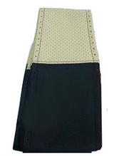 """Оплетка руля Elegant кожа """"премиум"""" цвет  черно-кремовый перфорированный размер M 37-38 см  EL 105 107"""