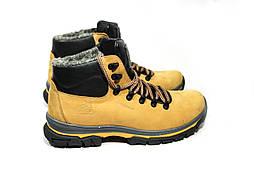 Зимние ботинки (на меху) мужские CAT 13039 (реплика)