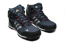 Зимние ботинки (на меху) мужские Adidas Climaproof (реплика)  3-003