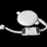Светодиодный врезной светильник 1-MSP-1841-C MAXUS SP edge 18W 4100К Круг, фото 3
