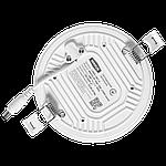 Светодиодный врезной светильник 1-MSP-1841-C MAXUS SP edge 18W 4100К Круг, фото 4