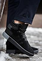 Кроссовки мужские зимние Adidas Tubular. ТОП КАЧЕСТВО!!! Реплика класса люкс (ААА+), фото 1