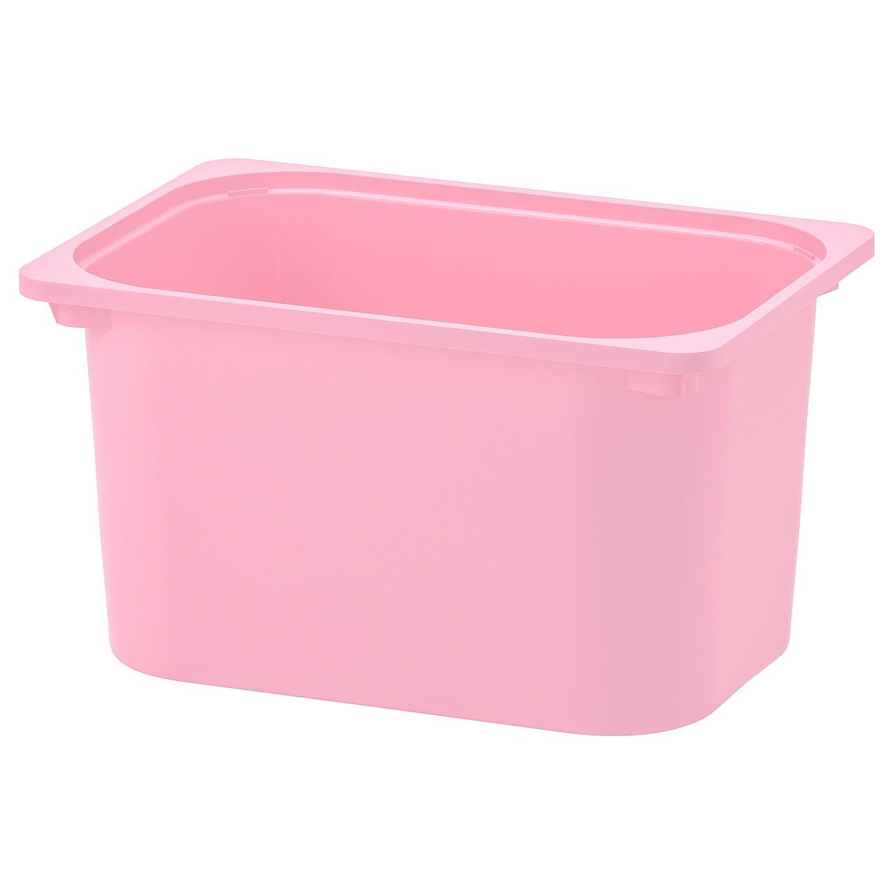 Контейнер IKEA TROFAST розовый 501.158.62
