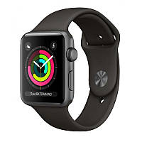 Apple Watch Series 3 38mm (GPS) Space Gray Aluminum Case with Gray Sport Band