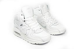 Зимние кроссовки (НА МЕХУ) женские Nike Air Max 1-105 (реплика)