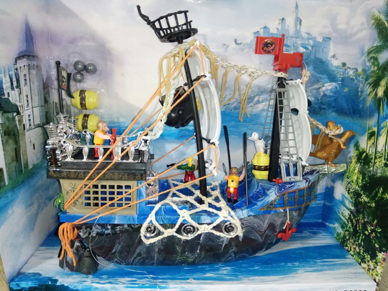 Детский корабль пиратов 50838 C