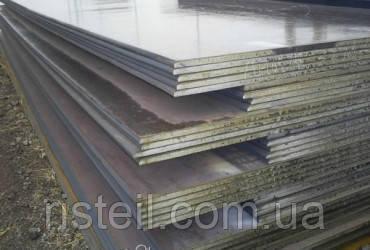 Лист из легированной стали 40Х, 130,0 мм
