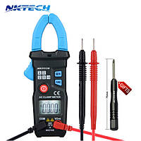 Токовые клещи NKTECH NK210E (AC: 200A; DC:600; AC: 600V; Сопротивление: 6 КОм)