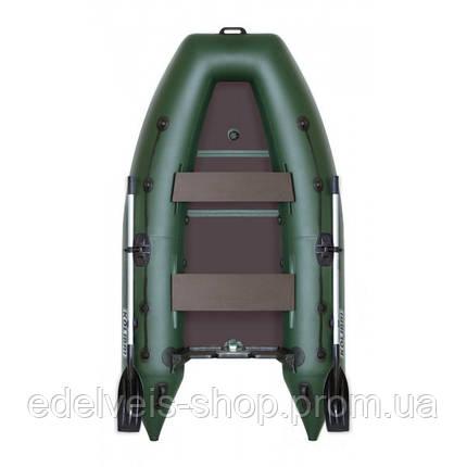Лодка надувная рыболовная Kolibri KM-280DL(килевая)серии Light, фото 2
