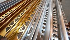 Алюминиевые профили для плитки