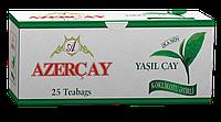 """Чай """"Азерчай"""" зеленый ароматом Чабреца, 25 ф/п"""