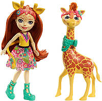 Набір Enchantimals лялька Джилліан Жираффи і вихованець Паул FKY74, фото 1