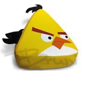 кресло детское Yellow Angry Bird среднее