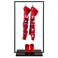 Напольная стойка для одежды «Квадро 2», фото 1