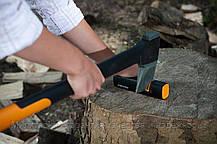 Топор-колун Fiskars L-Х21 (1015642/122473) + точилка 120740 для топоров и ножей, фото 3