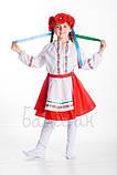 Детский карнавальный костюм для девочки Украинка 122-152р, фото 2