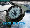• Оригинал! Skmei(Скмей)1232 Compass Green | Cпортивные часы с компасом!, фото 3