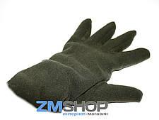 Перчатки флисовые (хаки)