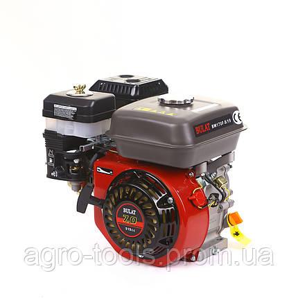 Двигатель бензиновый BULAT  BW170F-S/19 (шпонка, вал 19 мм, 7 л.с.) (Weima 170), фото 2