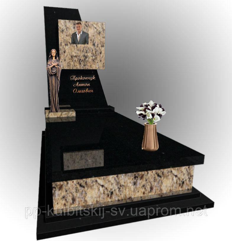 Одинарний пам'ятник надгробний 5035, фото 1