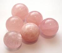 9170299 Шарик каменный Розовый кварц (Китай)