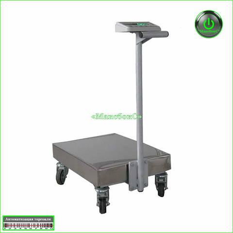 Тележка с весами 300 кг ТВ1-300-100-R(600 х 700 )-12ра Техноваги