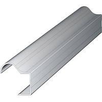 Ручка-профиль 16мм. AL-R-16 2.7м. алюминий