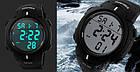 Cпортивные мужские часы  Skmei 1068 Black, фото 6