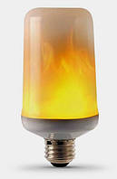 Светодиодная лампа имитация огня FIREFLUX 5W E27 3 режима 220V Код.59402