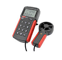 Анемометр UNI-T UT361 (1,00-30,00 м/с; 0-40ºC; 0-999900m3/min) Память 2044
