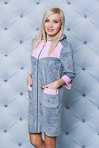 b0cab7580ca30 Женские велюровые халаты короткие и длинные - купить оптом, в ...