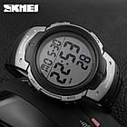 • Оригинал! Skmei(Скмей) 1068 Grey | Cпортивные мужские часы , фото 2