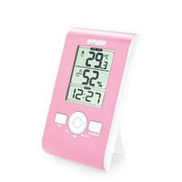 Цифровой термо-гигрометр EMATE M0102THS (термометр: 0 °C~+50 °C; гигрометр: 20%-90%), часы, будильник, фото 1