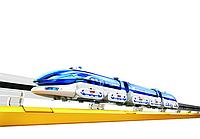 Конструктор CIC 21-633 Поезд на магнитной подушке (Тайвань), фото 1