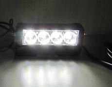 Стробоскопы белые S5-4 LED Federal signal.12-24В (7803)
