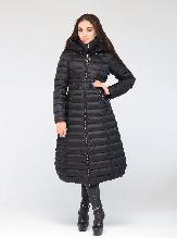 Стильная женская куртка CW17D698CW зимняя CLASNA черная (#701)