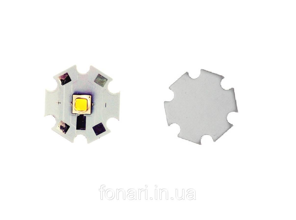 Светодиод Cree XM-L2 3000K на подложке STAR 20mm