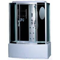 Гидробокс GM-6413 170x85x220 тонированное стекло, глубокий поддон