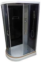 Душевой бокс GM-2510 120х85х215 правый, поддон 15 см, тонированное стекло