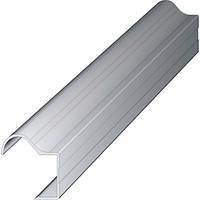 Ручка-профиль 18мм. AL-R-18 2.7м. алюминий