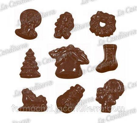 Полиэтиленовая форма для шоколадных конфет MARTELLATO 90-4103
