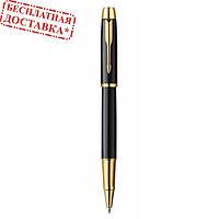 """Ручка роллер Parker """"IM"""" (с позолотой) Black GT RB 20 322Ч"""