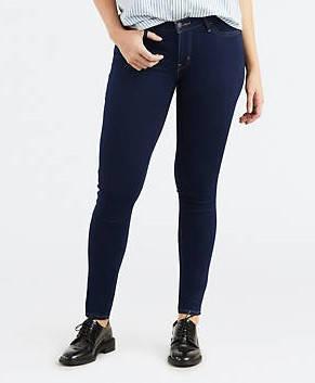 Женские джинсы Levi's 710 Super Skinny Jeans DUSK RINSE