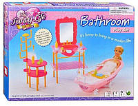 Мебель для кукол Gloria Ванная комната 2913